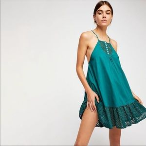 Free People Calico Trapeze Dress